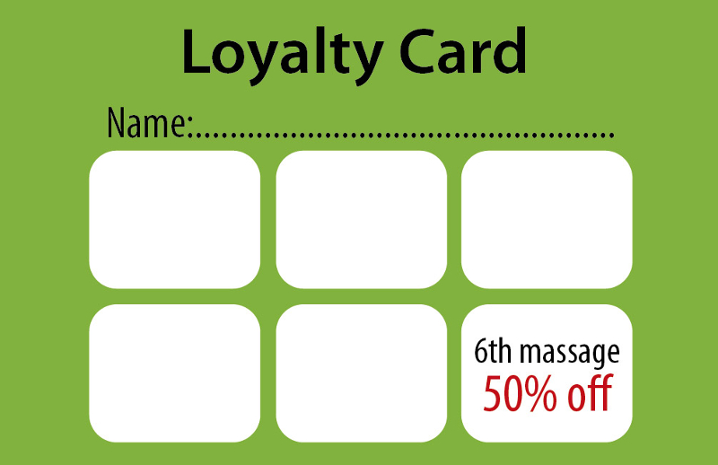 Therapy Zone Natalia Sowinska - Loyalty Cards